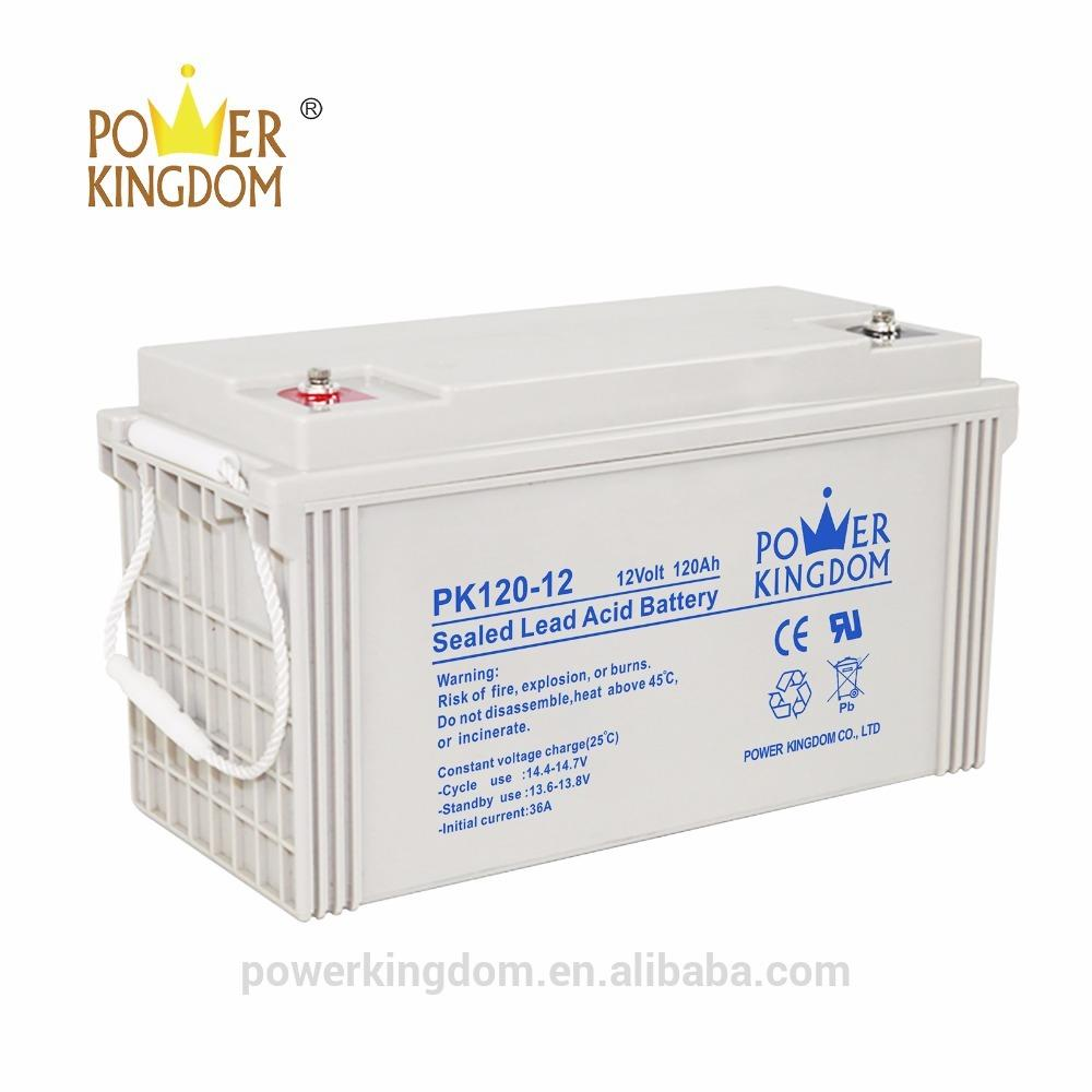 12v 120ah deep cycle long life agm battery for home solar systems