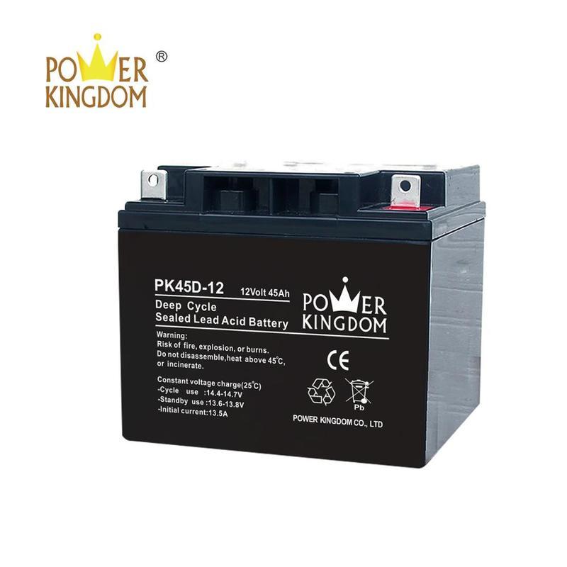 OEM solar energy street light battery 12V 45Ah/60Ah/120Ah solar rechargeable battery energy storage deep cycle battery
