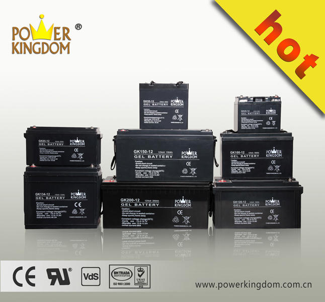 12V 100Ah deep cycle lead acid VRLA gel solar Battery