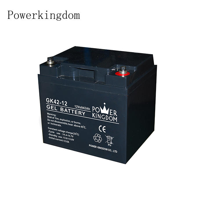 Rechargeable Supply assembly line sealed lead acid battery Gel 12v 42ah