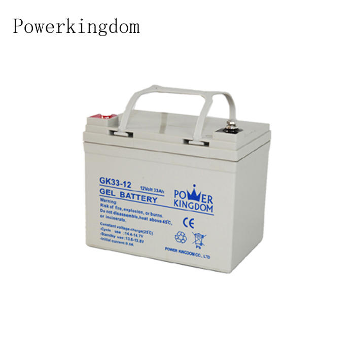 Rechargeable Gel 12V 33Ah battery rickshaw lead acid battery