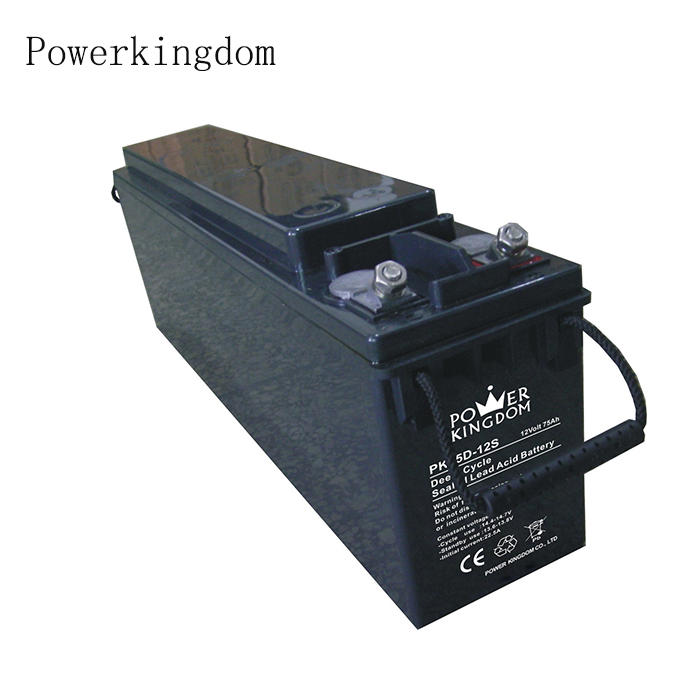 Front Terminal 12V 65ah sealed maintenance free rechargeable lead acid battery