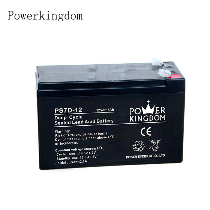 best selling products in europe lead acid 12v battery 7.2ah rechargeable deep cycle battery for solar systems