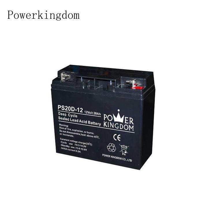 Led solar street light battery 24v 12v 20ah deep cycle battery accept customization
