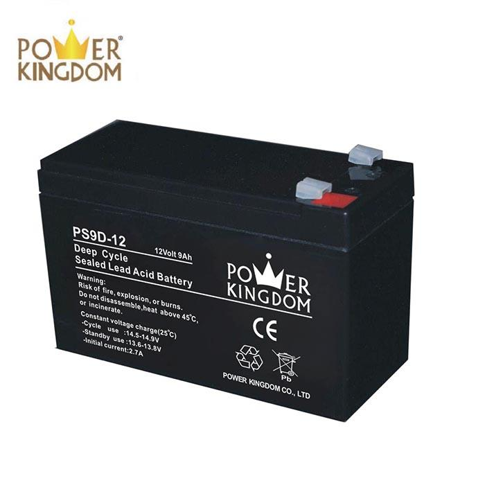12v9ah 15ah 20ah security system use recycling battery deep cycle series