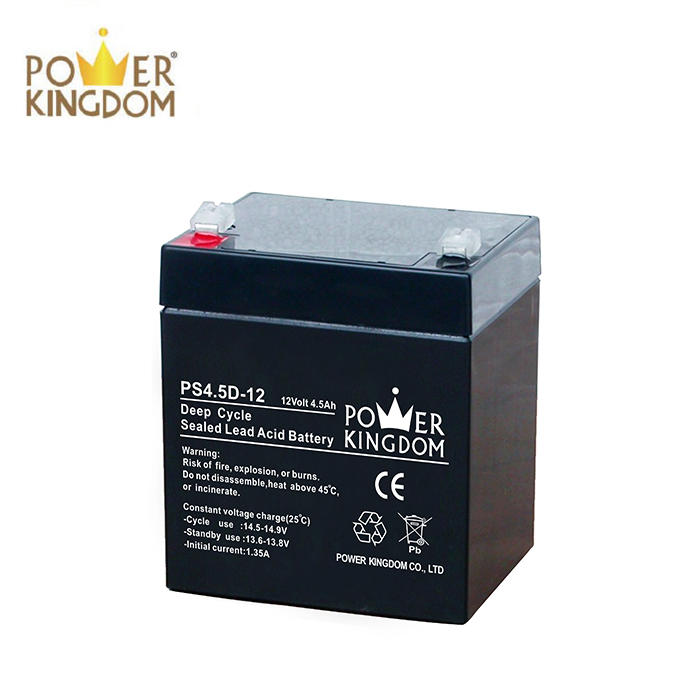 2018 new Uninterruptible power supply battery 12V 4.5AH Battery for warning light deep cycle battery