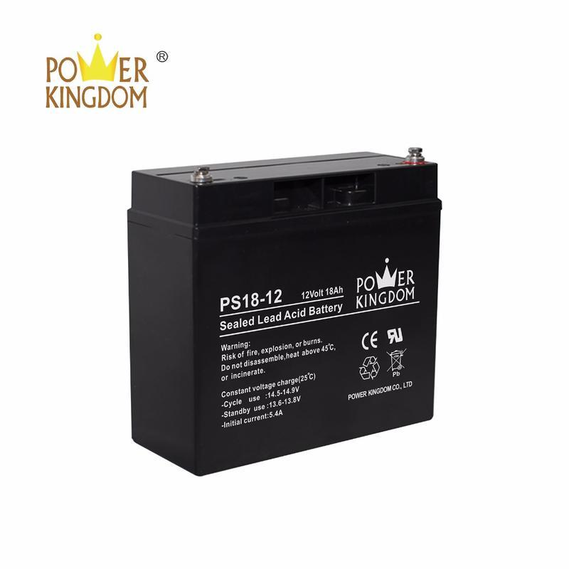 SLA batetry deep cycel battery 12v 18ah for home solar system