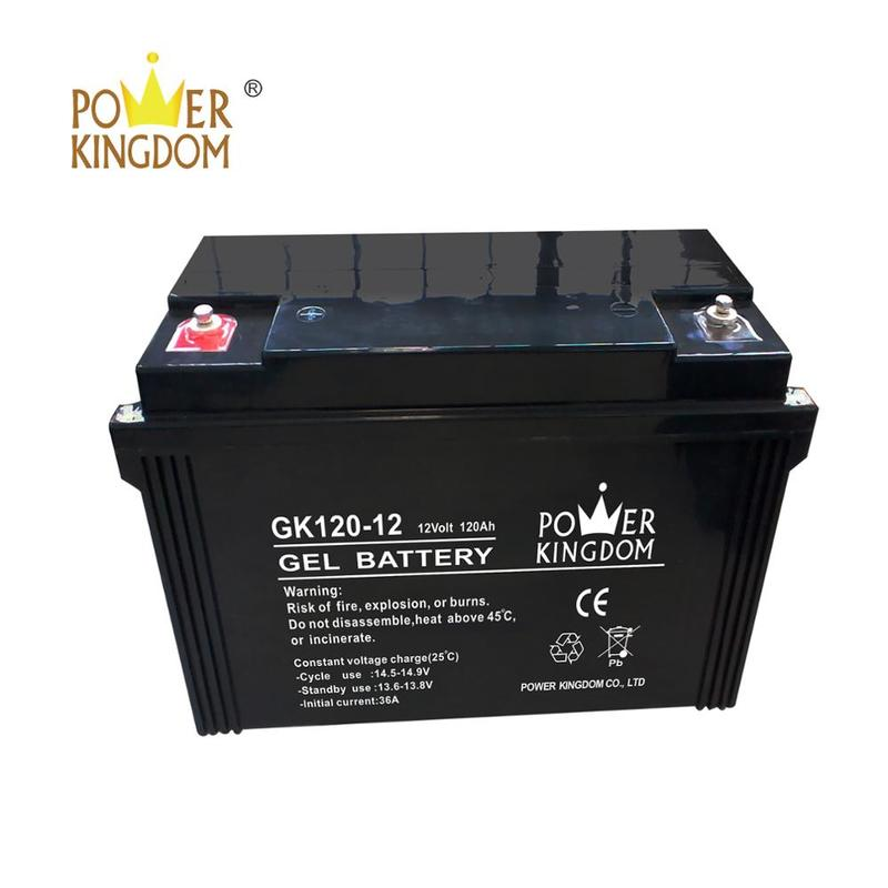 Rechargeablesolar deep cycle battery 12v 120ah
