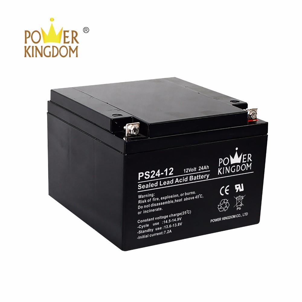 12v 24AH VRLA Solar storage Battery For Solar Street Lights inverter UPS system