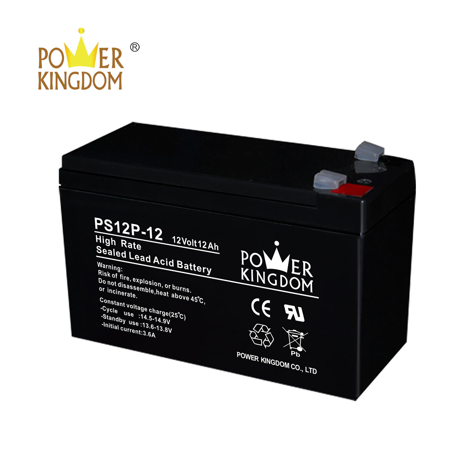 best price 12ah 12v high rate UPS battery lead acid battery