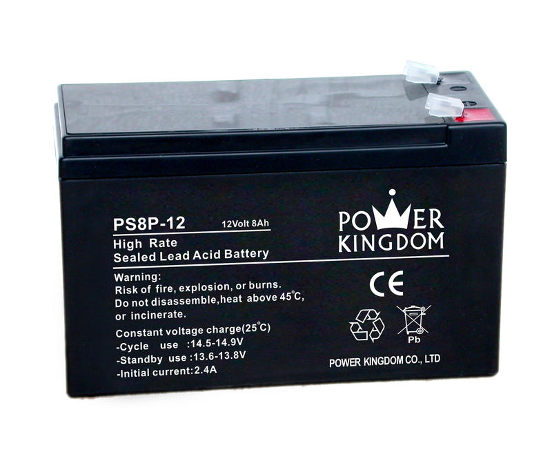 UPS battery 12v 8ah high rate sealed lead acid battery