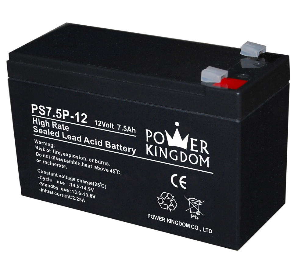 best price 7.5ah 12v high rate UPS battery lead acid battery