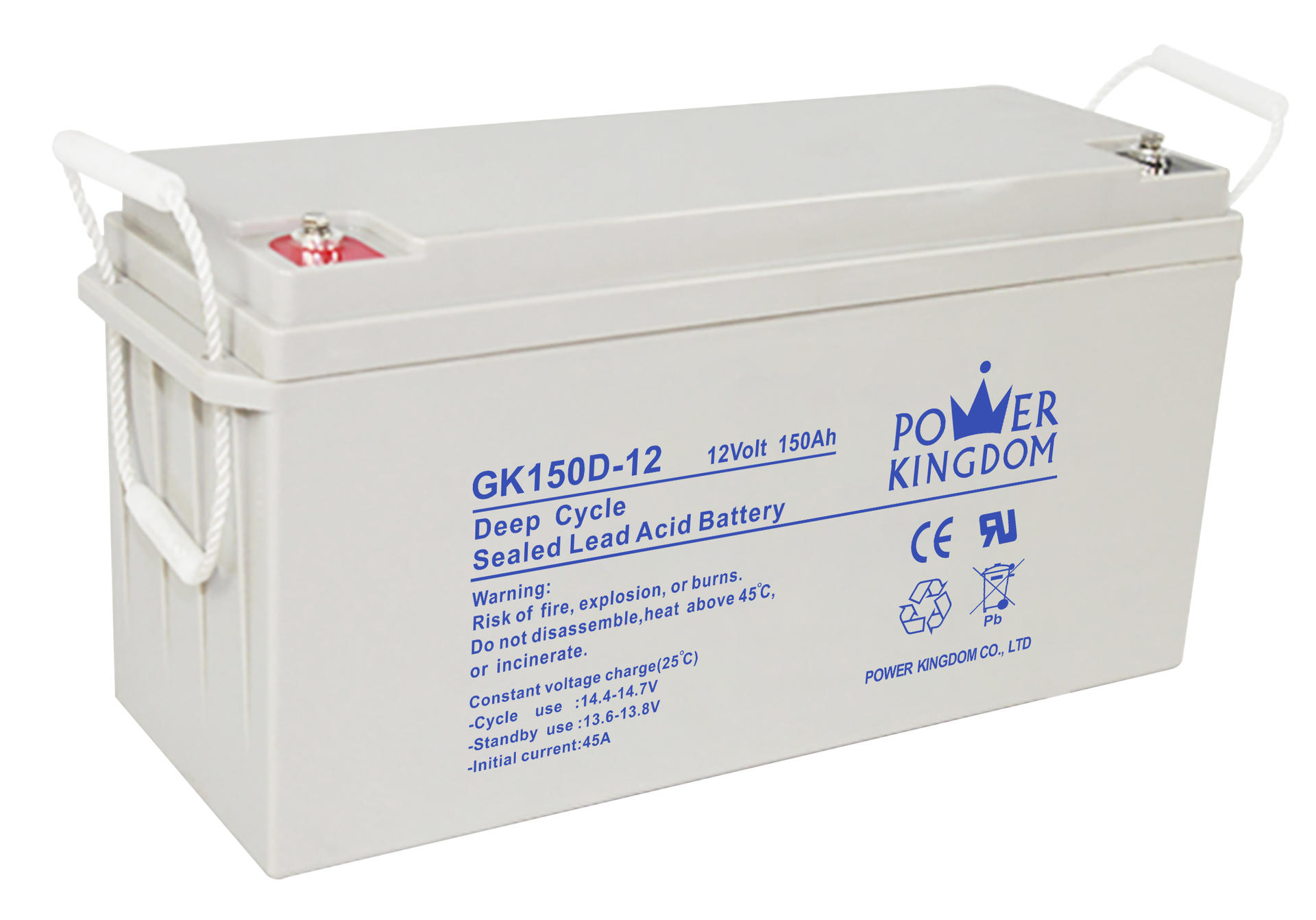 12V 150ah VALR gel battery for solar