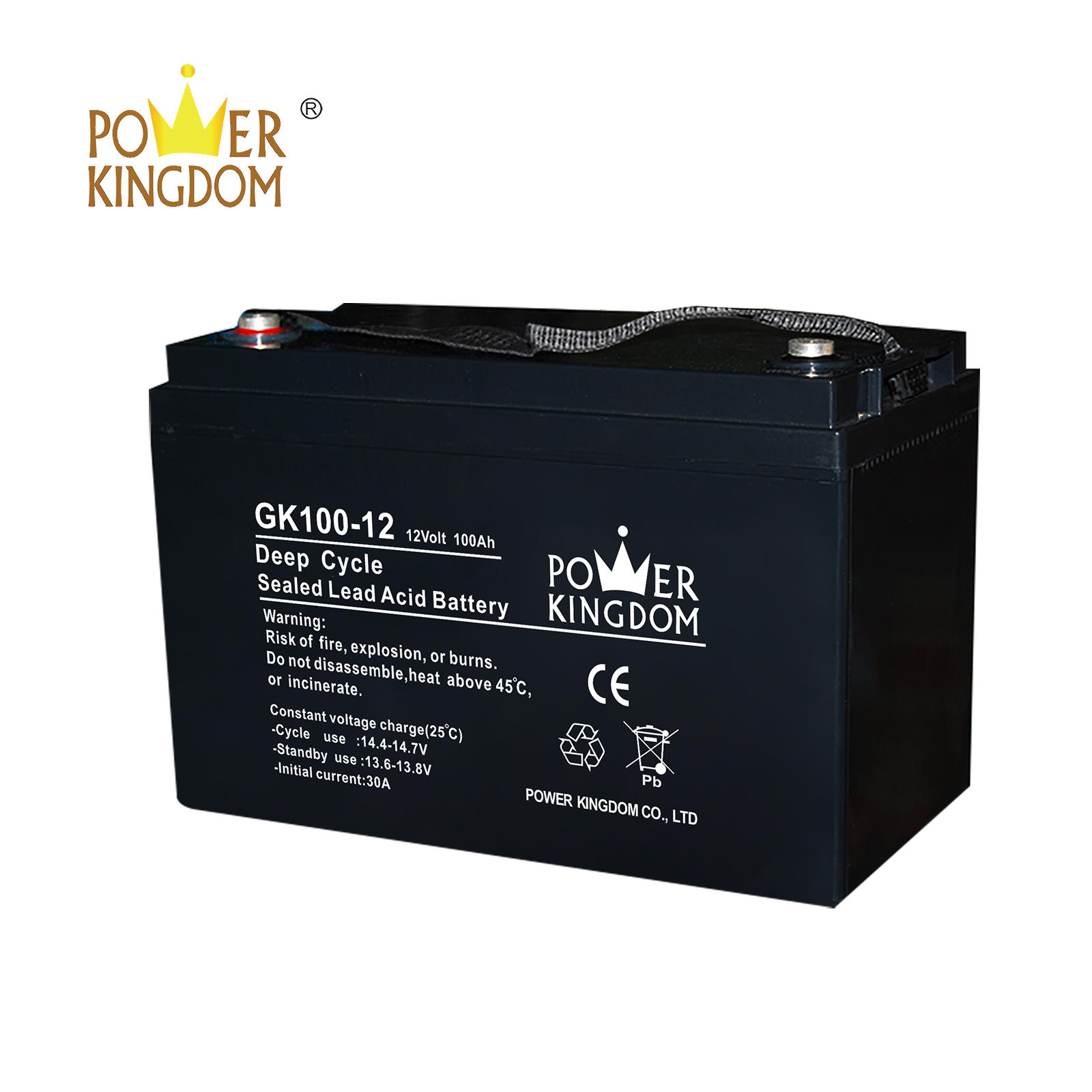 Free Maintenance Type and 12v Voltage bateria gel 100ah battery
