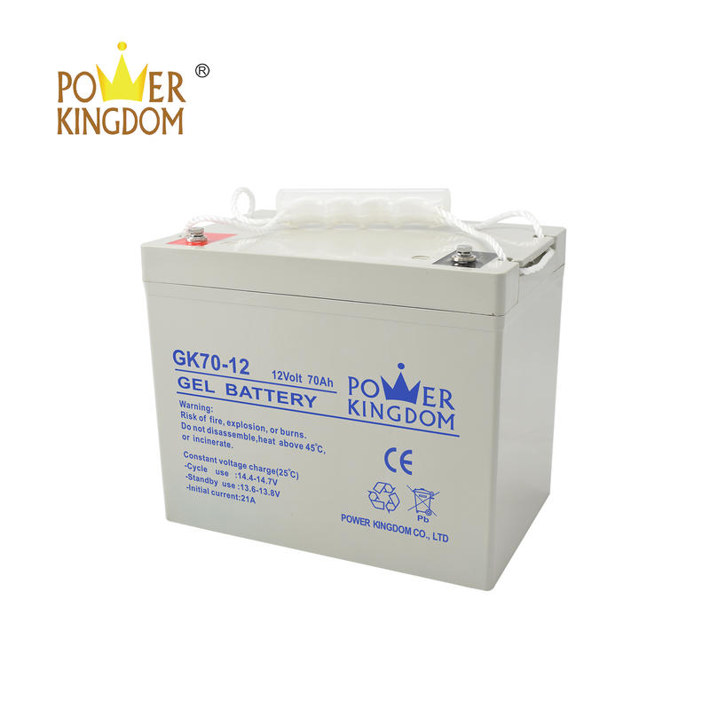 high quality lead acid battery 12v 70ah gel battery