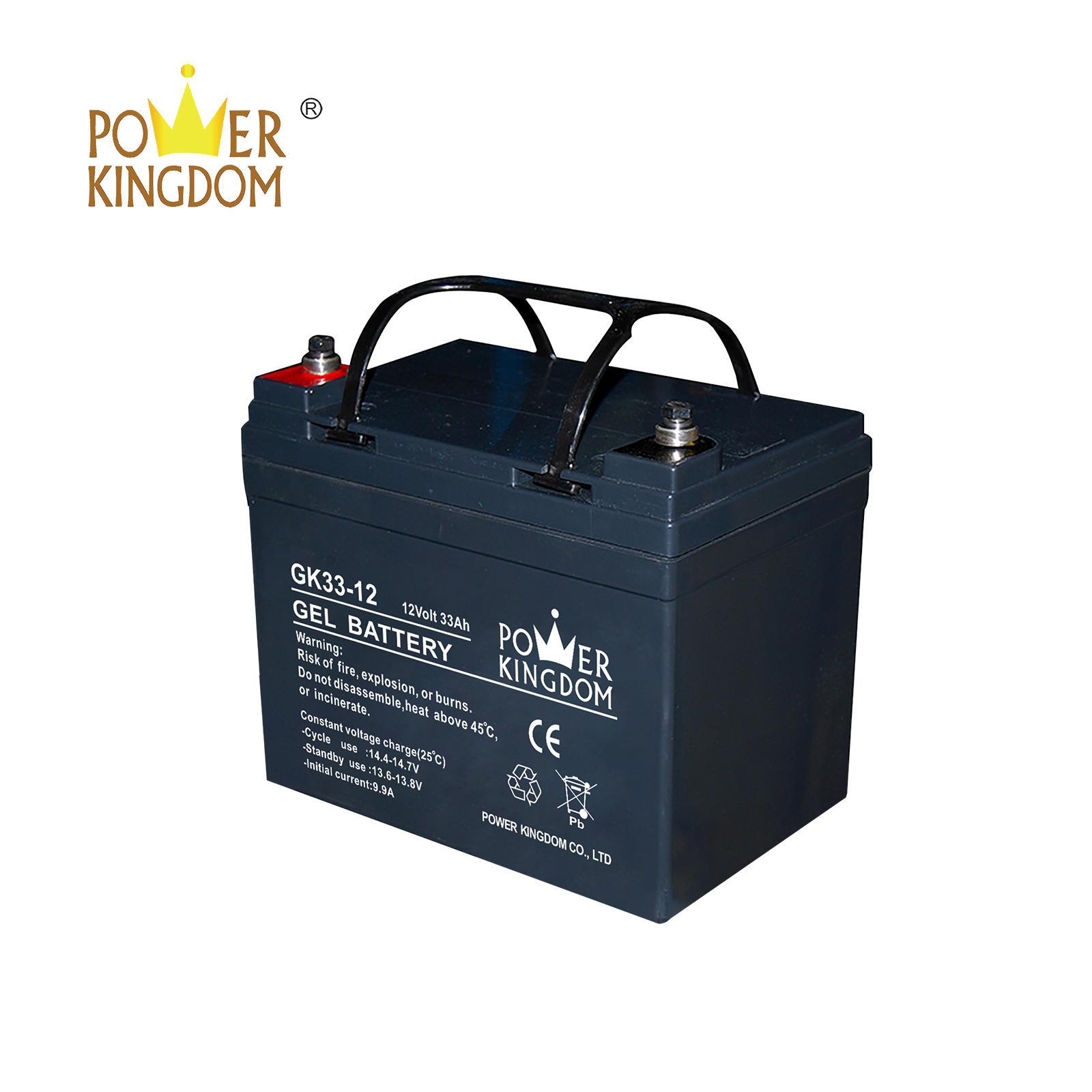 12V 33AH GEL battery price