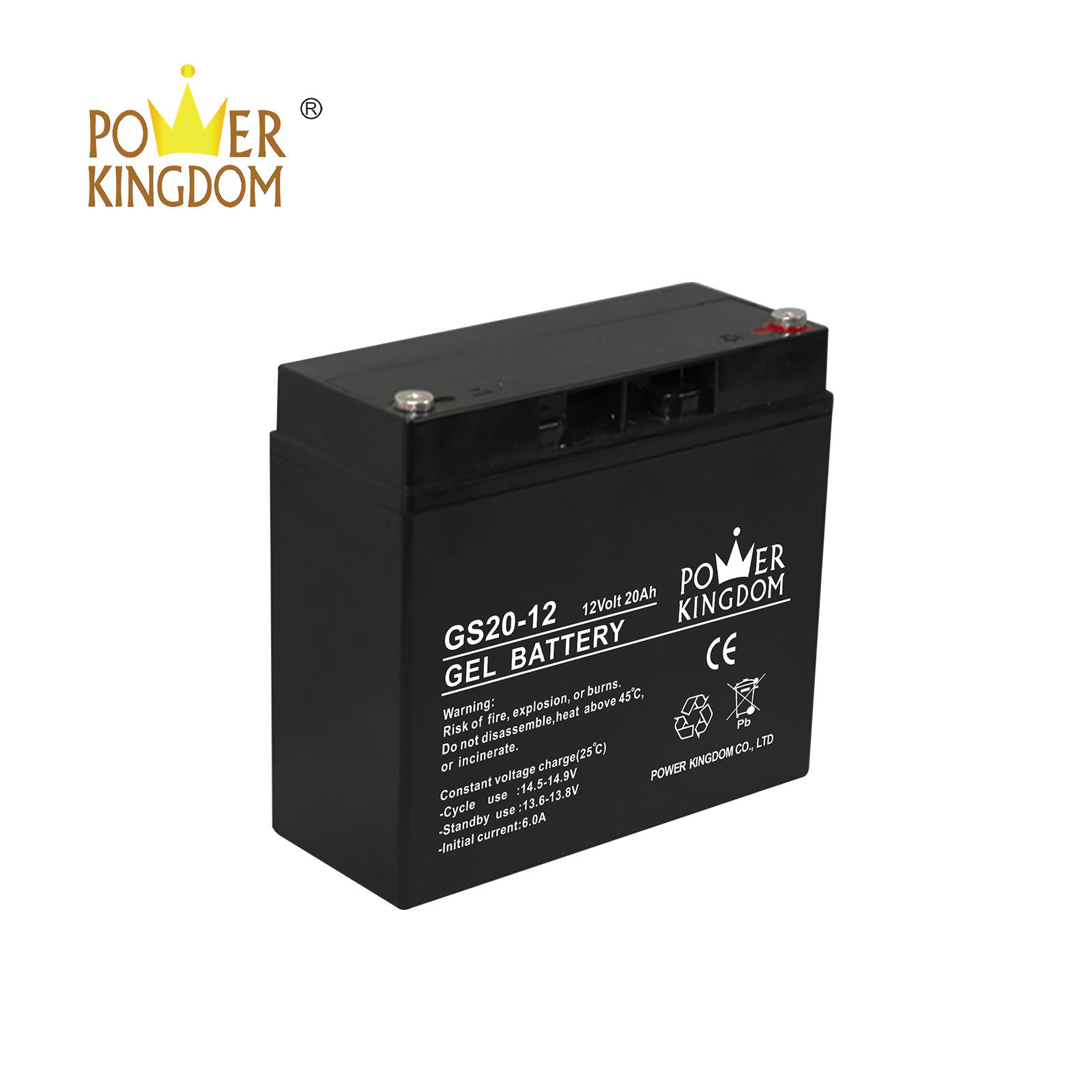 Top quality 12V 20Ah gel dry battery for solar system