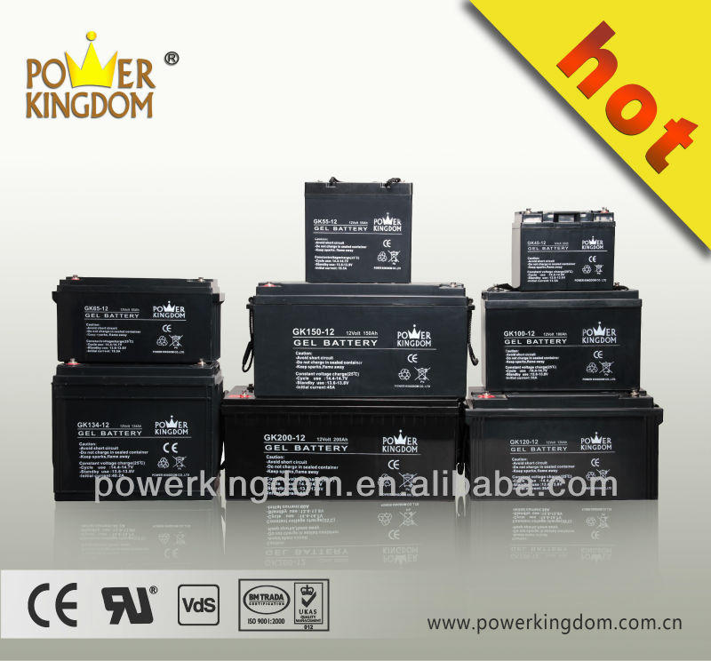 Maintenance free rechargeable 12v Gel battery 18ah for inverter