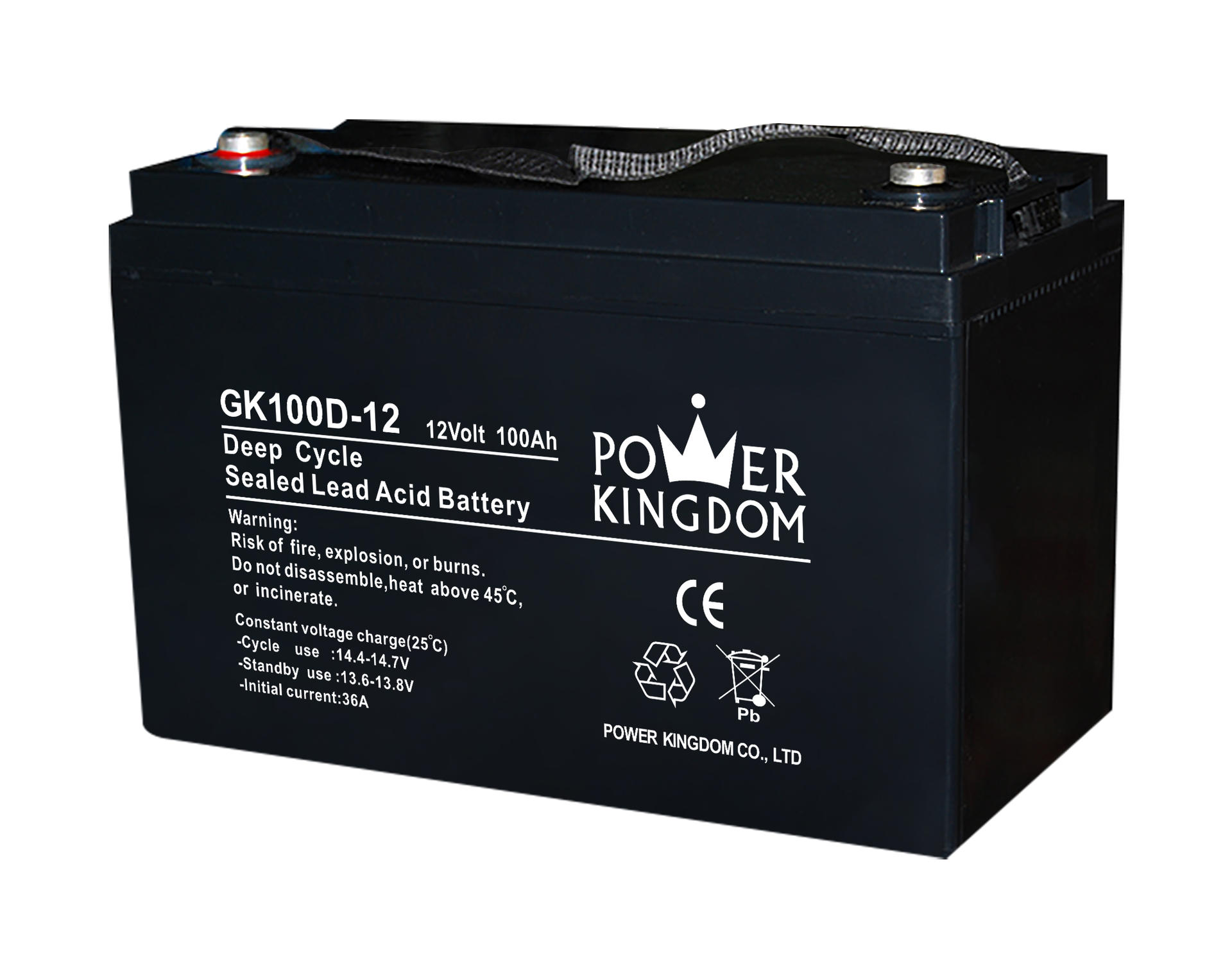 100AH 10HR 12V Deep Cycle Gel Battery