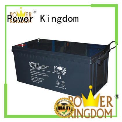 Power Kingdom high consistency rechargeable sealed lead acid battery design wind power system