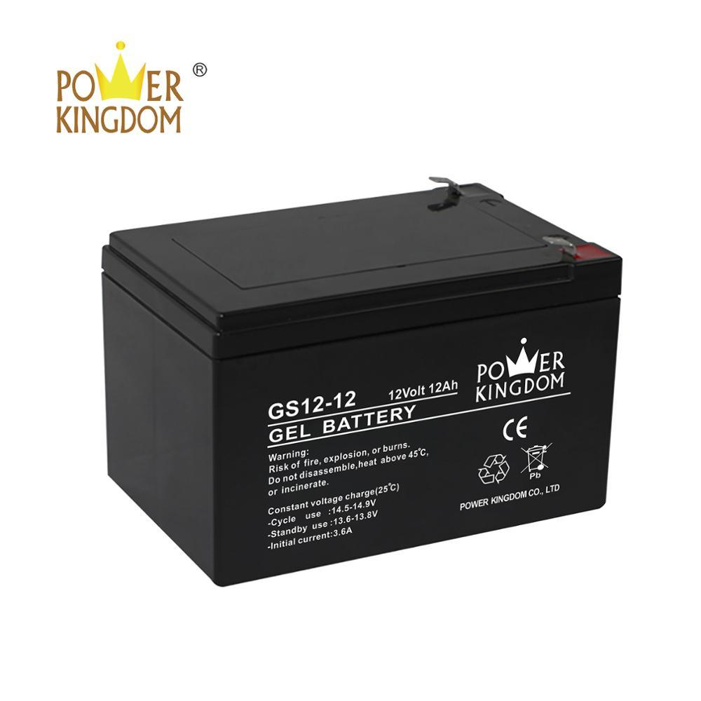 Reasonable price 12v AGM sealed lead acid battery for solar system