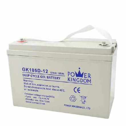 12v batterie 105AH gel deep cycle battery low self-discharge solar battery