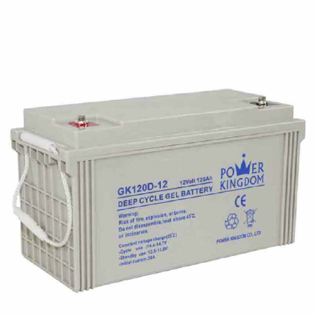 rechargeable battery electronic 12v 120ah gel deep cycle battery MF for solar panel