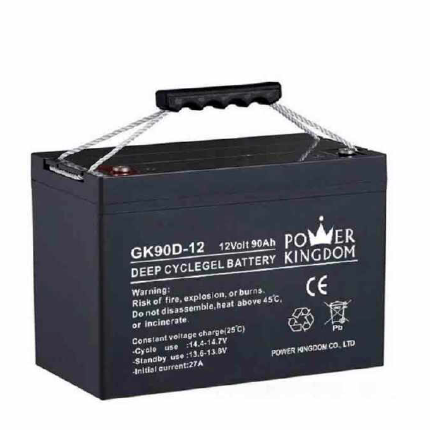 gel batteries 12V 90AH deep cycle rechargeable battery electronic MF