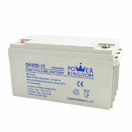 stable quality gel battery 12V 65AH rechargeablebattery deep cycle 10hr