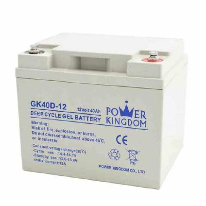 12V 40AH GEL solar battery deep cycle high quality VALR battery MF
