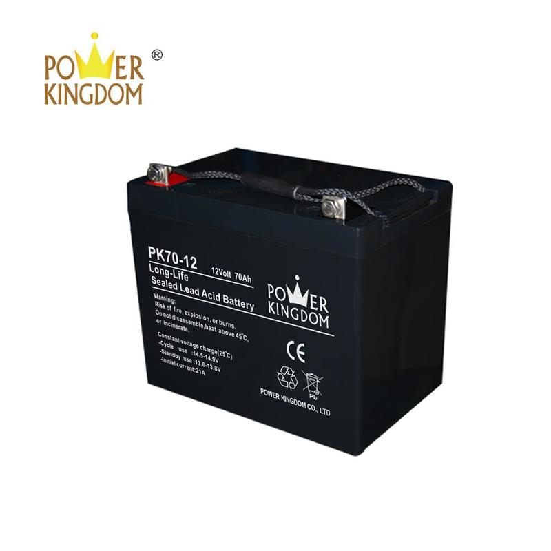 new solar energy storage battery 12v 70ah deep cycle battery