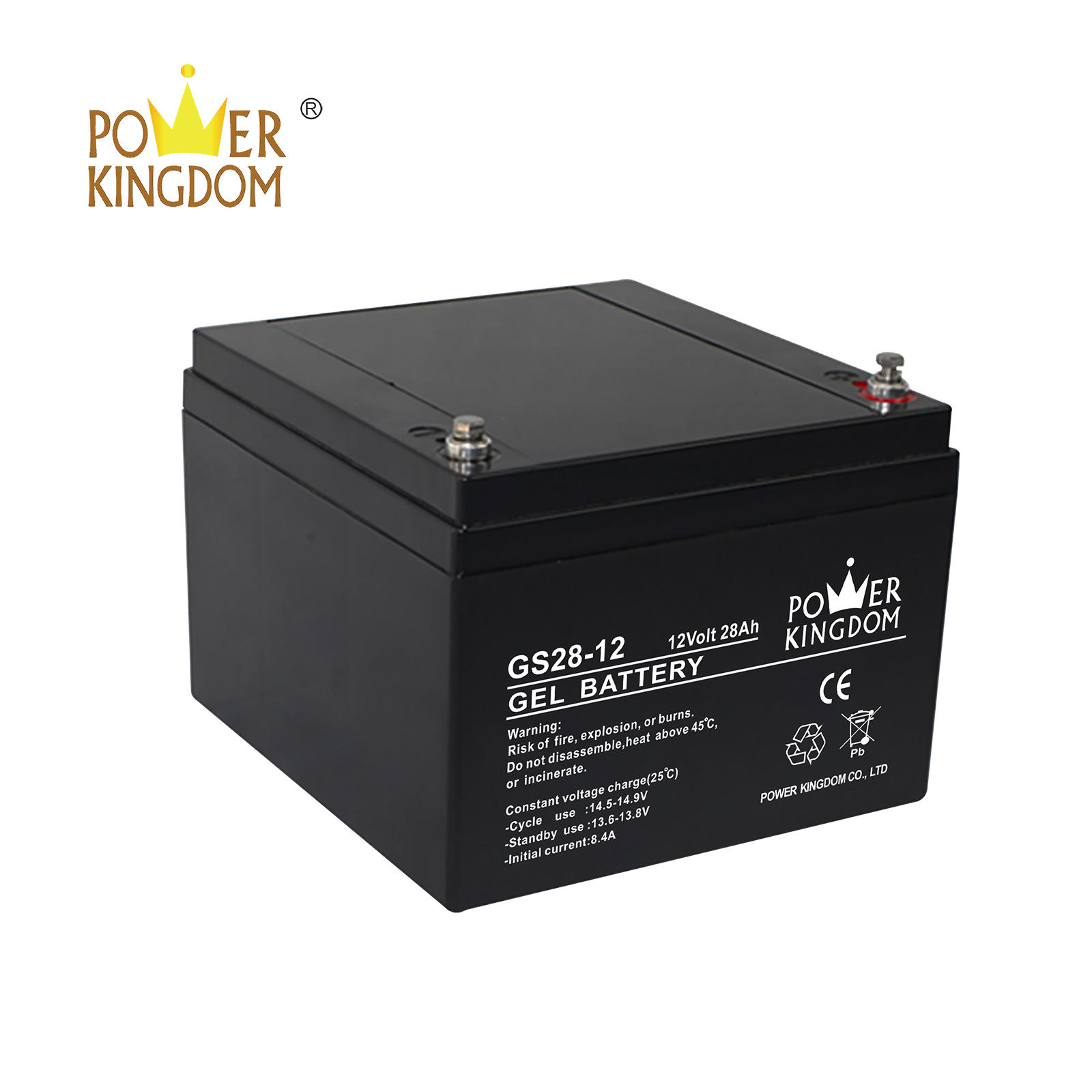 GEL solar battery 12V 28AH VALR battery maintenance free