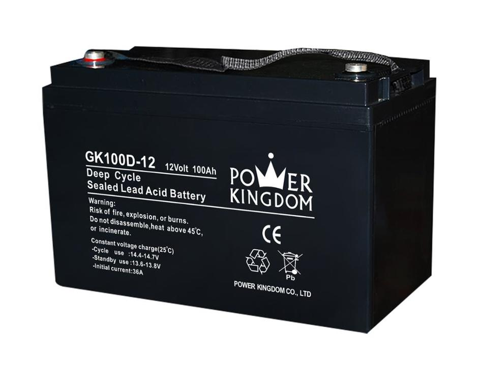 12v 100ah agm deep cycle battery for solar UPS system