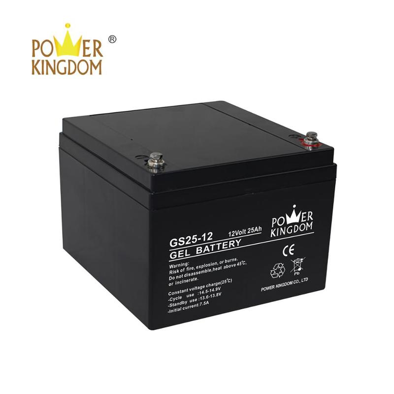 Gel 12V 20Ah 25AH Sealed Lead Acid UPS Battery For Emergency Light