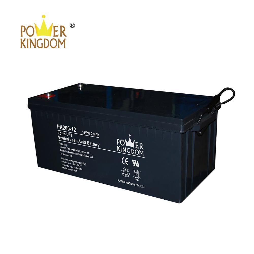 Long Life 12V 24V 200AH battery for Wind-Solar Hybrid Streetlight