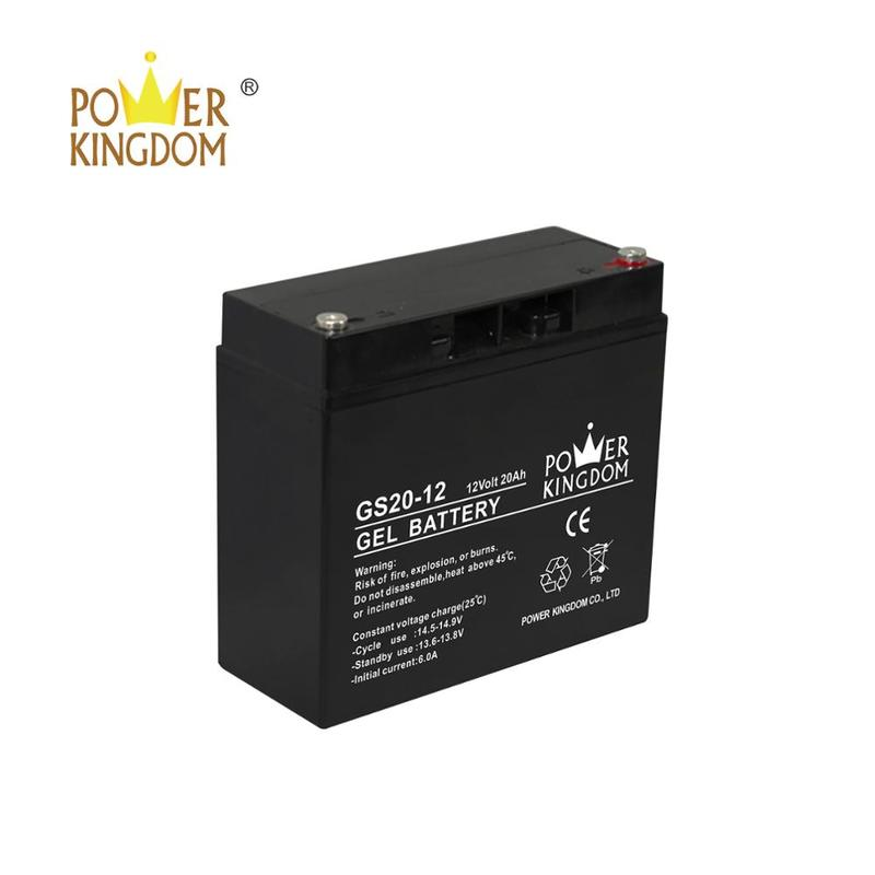 Powerkingdom 12V 20AH Lead Acid Battery for Electric Kid's Toy or Bicycle Battery