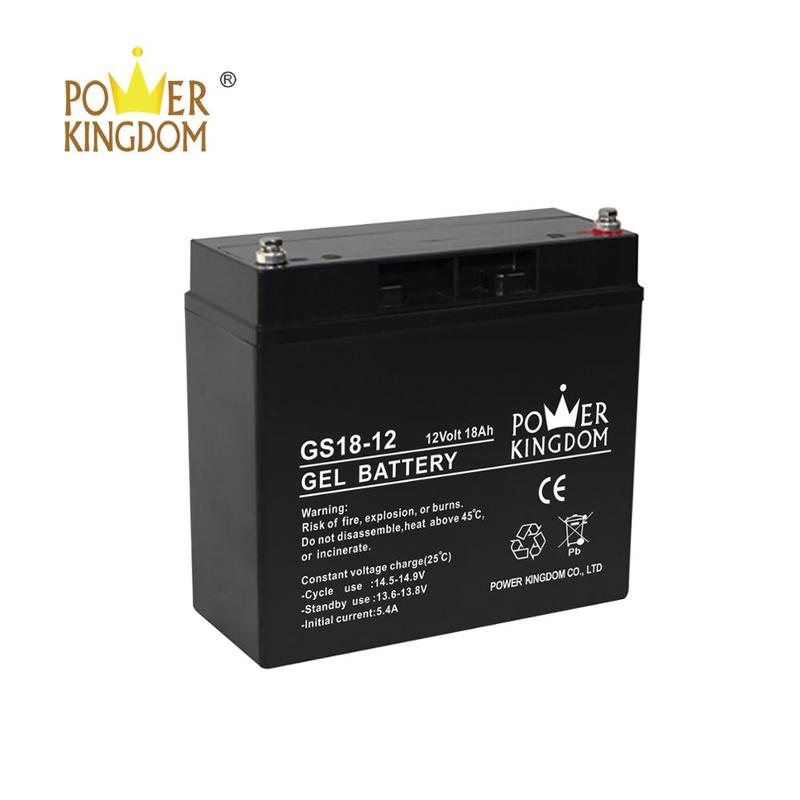 SGS Approved high temperature emergency lighting battery Gel 12V Battery