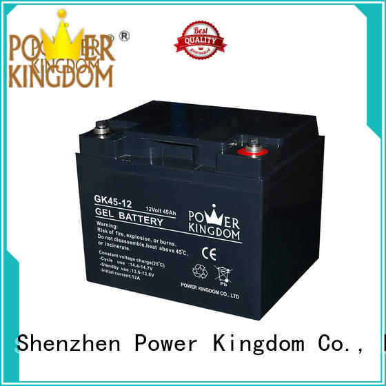 long standby life rechargeable sealed lead acid battery design medical equipment