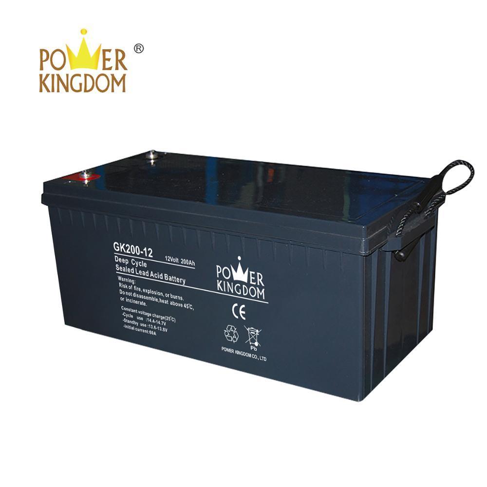 12V 200 Amp 200Ah 4D AGM Deep Cycle Wind Solar Sealed Lead Acid Battery