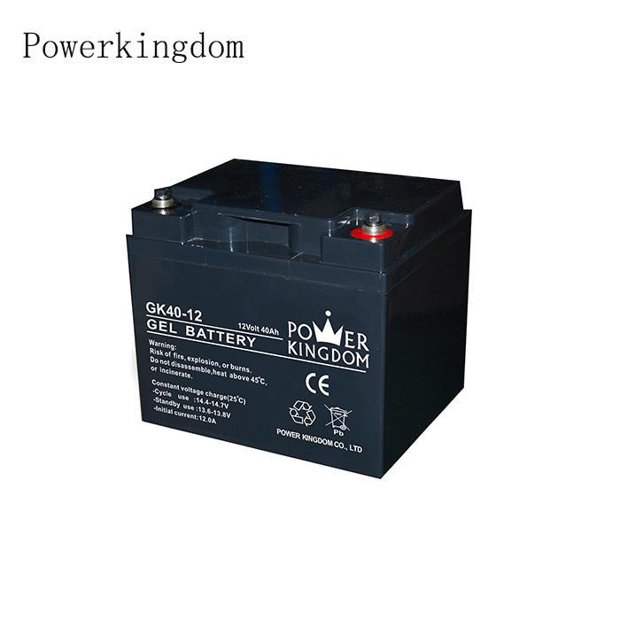 Gel 12V 40Ah Sealed Lead Acid Battery Plate Deep Cycle Battery UPS & Solar battery