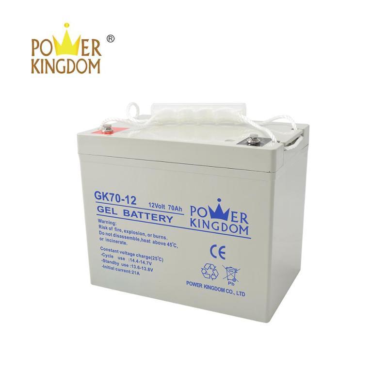 12v gel battery 70ah storage lead acid batteries
