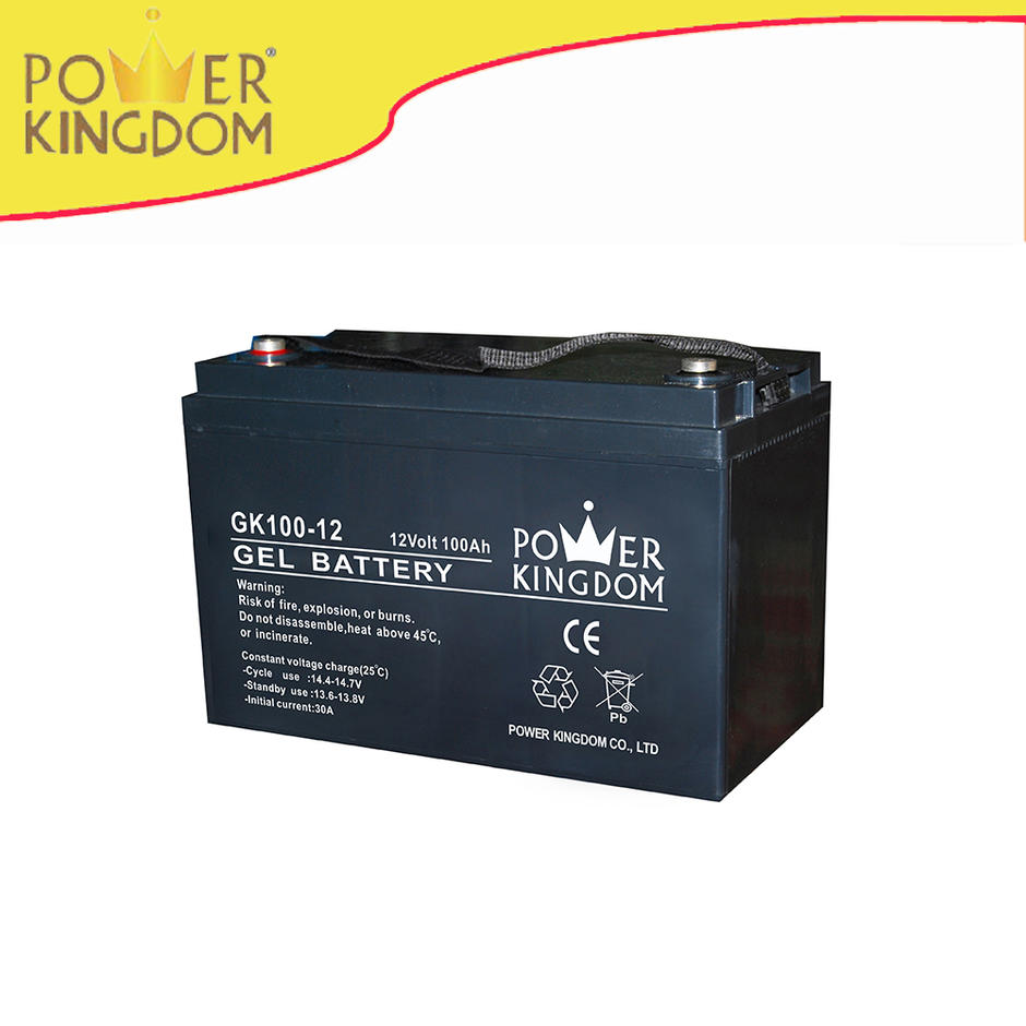 Wholesale custom promotional ups battery Gel 12v100ah sealed lead acid battery