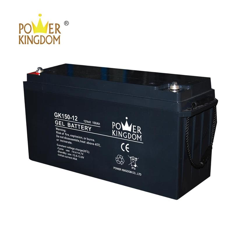 Manufacture AGM GEL battery 12 V 150AH hot selling