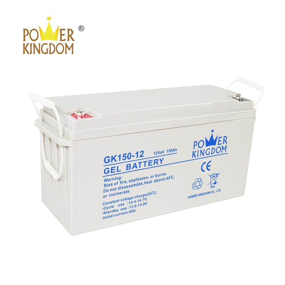 Manufacture AGM GEL battery 12 V 150AH hot selling
