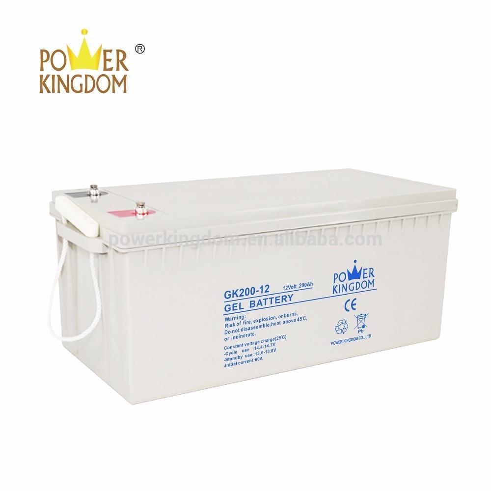 ISO CE UL Certificate AGM Marine Battery 12v 24 volt 250ah