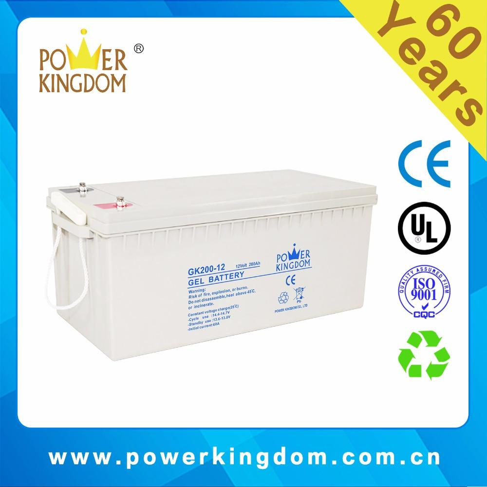 sealed lead acid batteries gel 12v 200ah solar panels for home