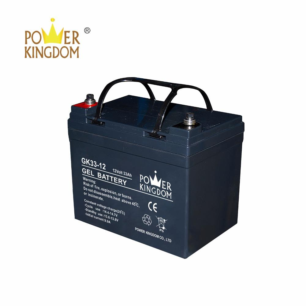 Big promotion 12V GEL deep cycle battery GK33-12D 12V33AH SLA battery