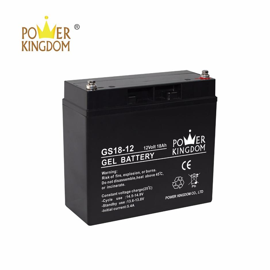 Gel battery GS8-12 12V8Ah for solar system usage
