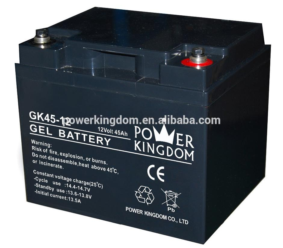 SOLAR GEL BATTERY 12V 45AH
