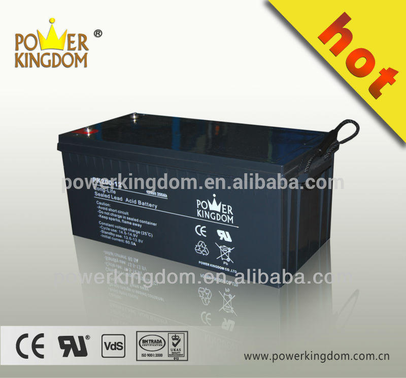 12V 200AH GEL battery